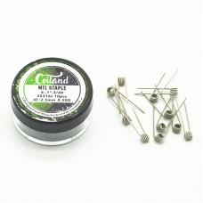 10un coil MTL Staple 0.5ohms - Coiland