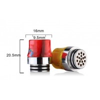 Drip Tip 810 SS/Resin