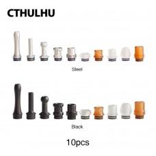 Drip Tip MTL 510 Furai Kit 10 Unidades - Cthulhu