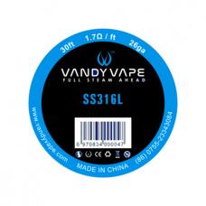 Fio SS316l 10 Metros - Vandy Vape
