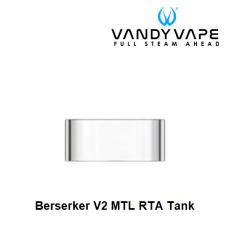 Tubo de Vidro Berserker V2 MTL RTA - Vandy Vape
